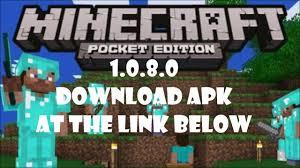 minecraft 0 8 0 apk free minecraft pe 1 0 8 0 apk