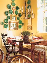unique white cabinets yellow walls kitchen taste