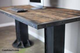 buy a custom made sit stand desk adjustable height sit to stand