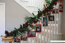 christmas staircase garland ideas 6 best staircase ideas design
