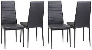 Black Kitchen Furniture Amazon Com Merax Stylish Design Luxurious Dining Chairs Kitchen