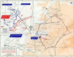 River Map Map Showing Battle Of Stones River