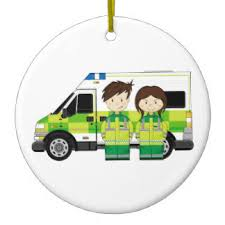 ambulance ornaments keepsake ornaments zazzle