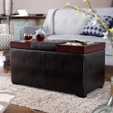Trunk Ottoman Faux Leather Ottoman Bedroom Storage Trunk Ideas