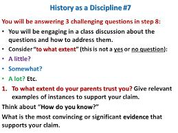 history as a discipline unit 1 u2013 lesson 10 history as a