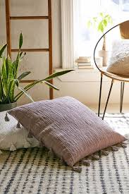 oversized pillows for bed urban outfitters magical thinking hudson oversized tassel pillow