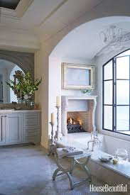 Decorating Ideas For The Bathroom Best 25 Bathroom Fireplace Ideas On Pinterest Dream Bathrooms