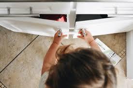 kitchen cupboard door child locks 6 best drawer and cabinet locks of 2020