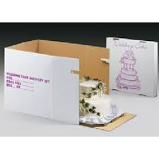wedding cake delivery decopac tiered cake delivery cartons
