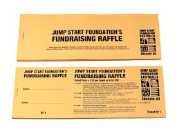 09 educational charity budget raffle tickets
