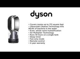 dyson humidifier and fan dyson am10 hygienic mist humidifier black nickel youtube