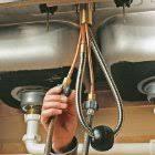 installing a kitchen faucet kitchen faucet