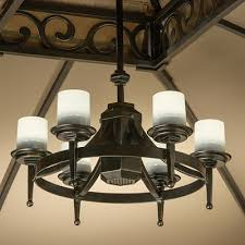 Outdoor Lighting Fixtures For Gazebos by Living Home Outdoors Battery Operated Led Gazebo Chandelier For