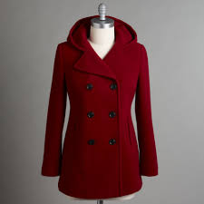covington women s hooded pea coat