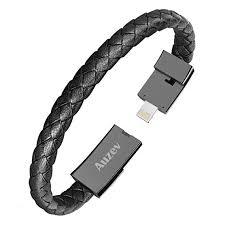 bracelet iphone images Auzev usb charging cable bracelet fashion wrist data jpg
