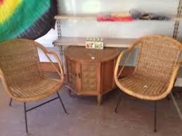 rattan chair ebay