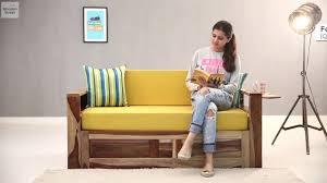sofa bed buy queen size feltro sofa bed online in natural
