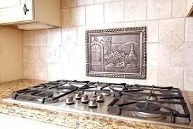 Backsplash Medallions Kitchen Charming Tile Kitchen Backsplash Medallions Amusing Colorful Ideas
