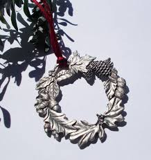 9 best ornaments images on pinterest pewter christmas ornaments