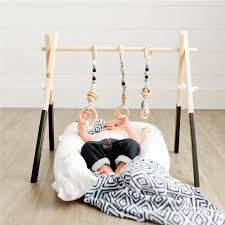 Nursery Decor Accessories Nordic Wooden Baby With Accessories Play Nursery