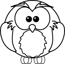 owl tv cartoon coloring pages for kids tv line drawing photo