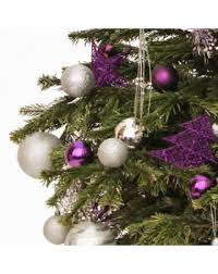How Much Are Real Christmas Trees - purple lustre real tree office xmas trees uk christmas tree