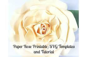 giant paper flower rose youtube
