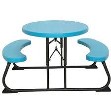 Lifetime Outdoor Furniture Lifetime 3 Piece Oval Picnic Table And Bench Set U0026 Reviews Wayfair