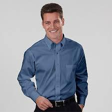 van heusen dress shirts 13v0031 mens blended pinpoint oxford ls
