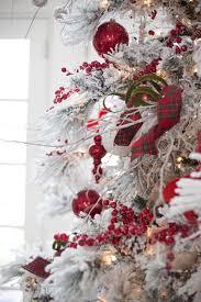 the 25 best flocked christmas trees ideas on pinterest white