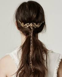 gold hair accessories gold hair accessories are now in trend womenitems