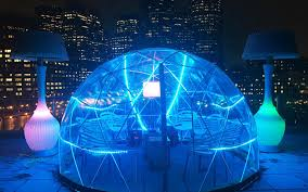 things to do in boston thanksgiving stay cozy at boston u0027s new rooftop u0027igloo u0027 bar travel leisure