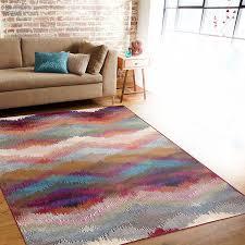 amazon com rugshop distressed modern geometric soft area rug 5 u00273