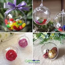 beautiful and fun christmas hanging ball bauble candy ornament