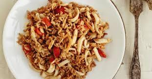 cuisine cor馥nne recette la cuisine coréenne ojingeo kokkeum ou calamars piquant recettes