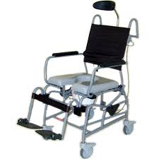 tilt in space shower commode chair shower wheelchairs