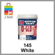 nippon paint interior q glo 1 litre white 145 lazada malaysia