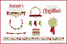 holiday cocktails clipart christmas polka dot clipart vector illustrations creative market