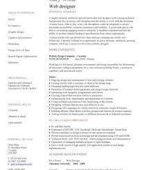 web design resume examples graphic web designer resume example
