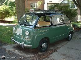 fiat multipla 600 1963 fiat multipla original taxi was in use in switzerland id 10182
