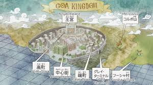 Goa Map Image Goa Kingdom Infobox Png One Piece Wiki Fandom Powered