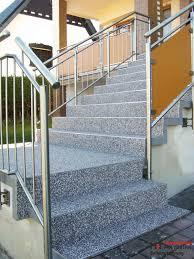 balkon edelstahlgel nder treppengeländer edelstahl geländer außen und innen daun m t polyester