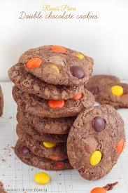 reese u0027s pieces double chocolate cookies recipe