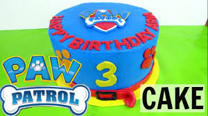How to Make A Buttercream Paw Patrol Cake