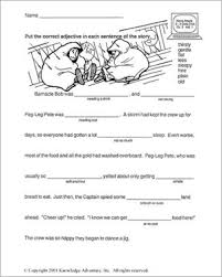 reading lessons for 3rd grade land ahoy word usage printable 3rd grade reading worksheet