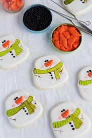 139 best snowman cookies images on pinterest snowman cookies