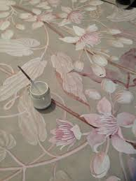 Painted Wall Mural Handpainted Wallpaper By Wouter Dolk Check Out His Website His