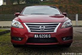 nissan sylphy test drive review nissan sylphy 1 8 vl lowyat net cars