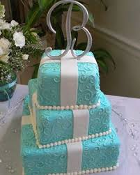 tiffany blue wedding cakes country chic tiffany blue and white