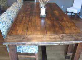 How To Build A Rustic Dining Room Table Dining Room Table How To Build A Dining Room Table 13 Diy Plans